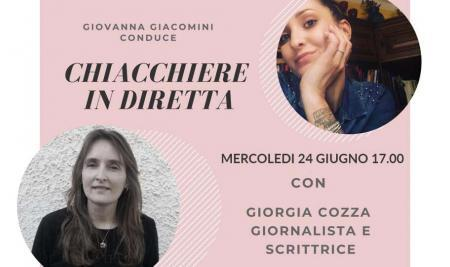 LeggiAMO. Live con Giorgia Cozza, giornalista e autrice.